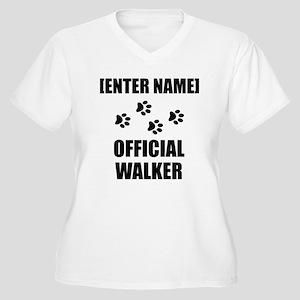 Official Pet Walker Personalize It!: Plus Size T-S