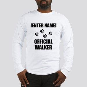 Official Pet Walker Personalize It!: Long Sleeve T
