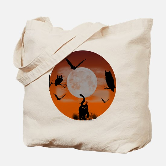 Spooky Night Tote Bag