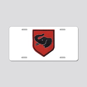 Rhodesian Army First Brigade Aluminum License Plat