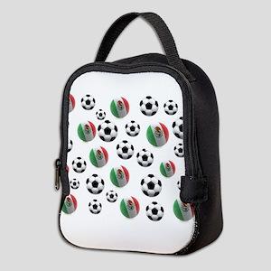 Mexican soccer balls Neoprene Lunch Bag