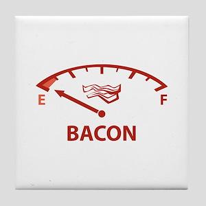 Running On Empty : Bacon Tile Coaster