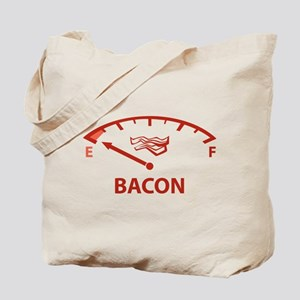 Running On Empty : Bacon Tote Bag