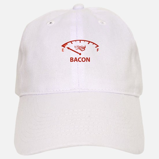 Running On Empty : Bacon Baseball Baseball Cap