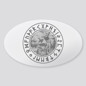 Thor Rune Shield Sticker