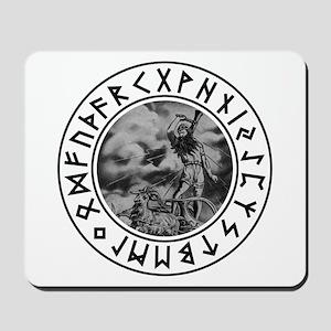 Thor Rune Shield Mousepad