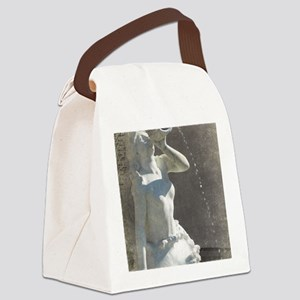 Plaza Mermaid Canvas Lunch Bag