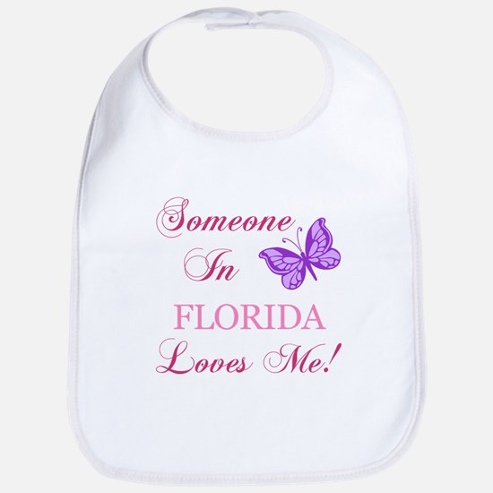 Florida State (Butterfly) Bib