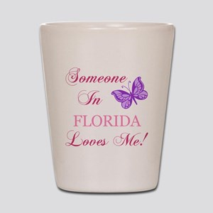 Florida State (Butterfly) Shot Glass