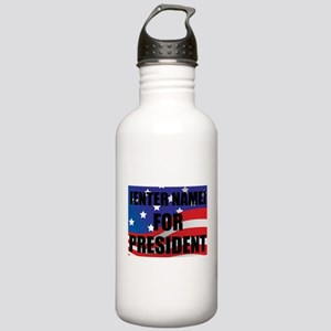 For President Personalize It! Water Bottle