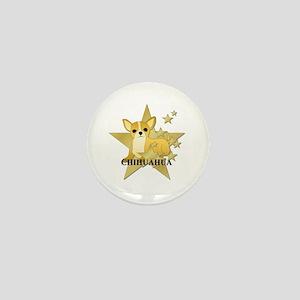 Chihuahua Stars Mini Button