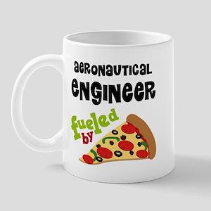 Aeronautical engineer Fueled By Pizza Mug