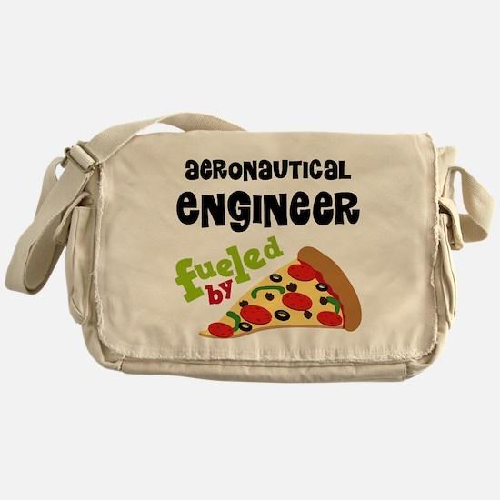 Aeronautical engineer Fueled By Pizza Messenger Ba