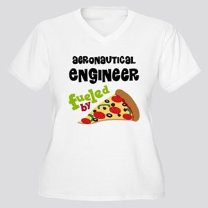 Aeronautical engineer Fueled By Pizza Women's Plus
