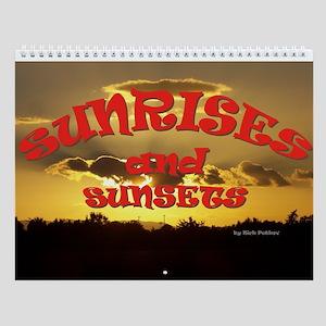 Sunrises and Sunsets Wall Calendar