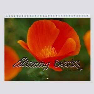 Blooming Beauty Wall Calendar