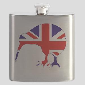 New Zealand Kiwi Flask