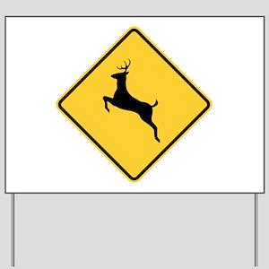 Deer Crossing Sign Yard Sign