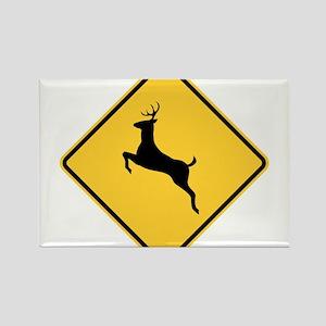 Deer Crossing Sign Magnets