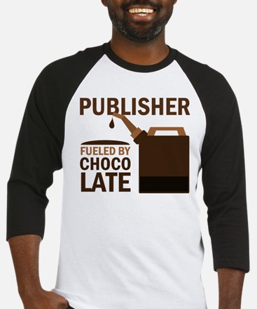 Publisher Fueled By Chocolate Baseball Jersey
