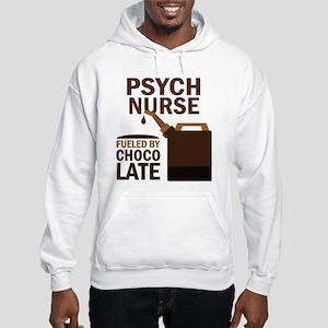 Psych Nurse Chocolate Hooded Sweatshirt
