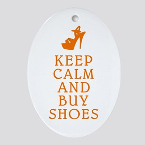 BUY SHOES Ornament (Oval)