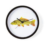 Common Carp Wall Clock