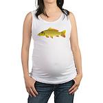 Common carp c Maternity Tank Top