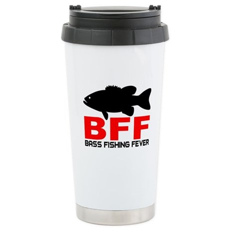 BASS FISHING FEVER Travel Mug