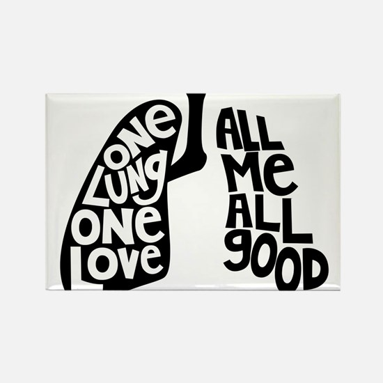 One Lung One Love - Righty Magnets