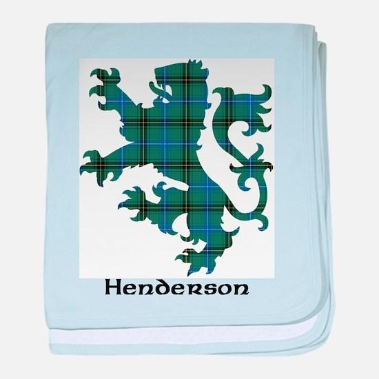 Lion - Henderson baby blanket