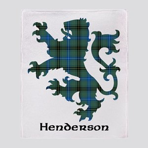 Lion - Henderson Throw Blanket