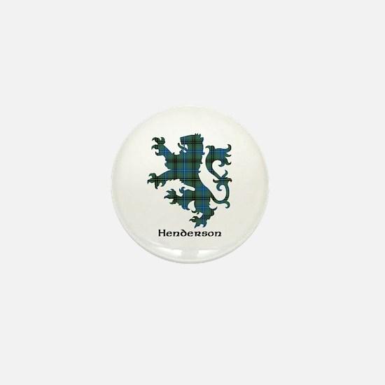 Lion - Henderson Mini Button
