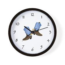 Western Cock Wall Clock