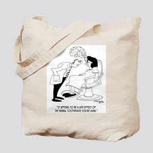 Herbal Toothpaste Side Effects Tote Bag