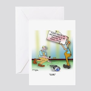 Clear! Greeting Card