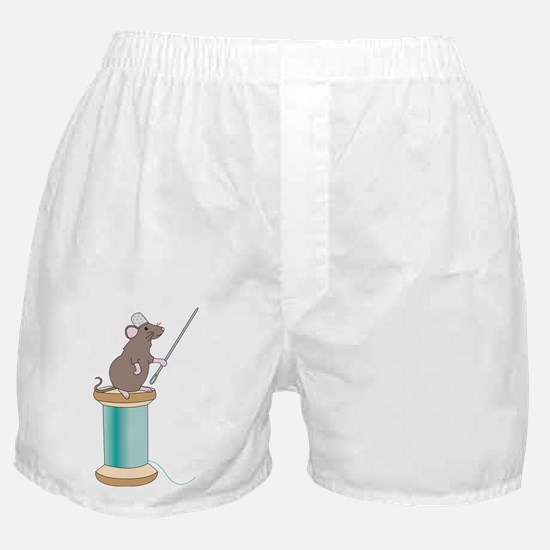 Mouse Sewing Boxer Shorts