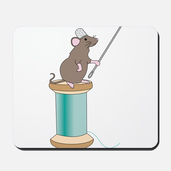 Mouse Sewing Mousepad