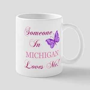 Michigan State (Butterfly) Mug