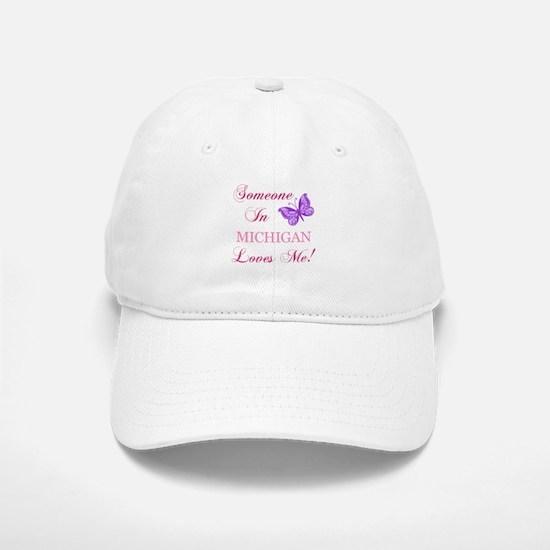 Michigan State (Butterfly) Baseball Baseball Cap