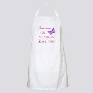 Michigan State (Butterfly) Apron