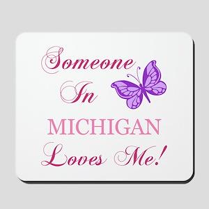 Michigan State (Butterfly) Mousepad