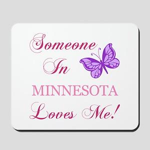 Minnesota State (Butterfly) Mousepad