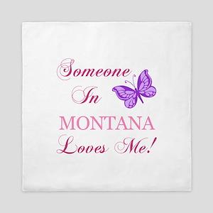 Montana State (Butterfly) Queen Duvet