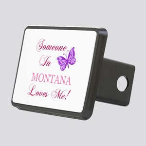 Montana State (Butterfly) Rectangular Hitch Cover