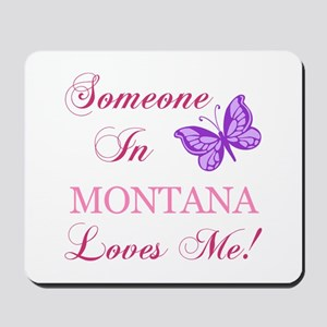 Montana State (Butterfly) Mousepad