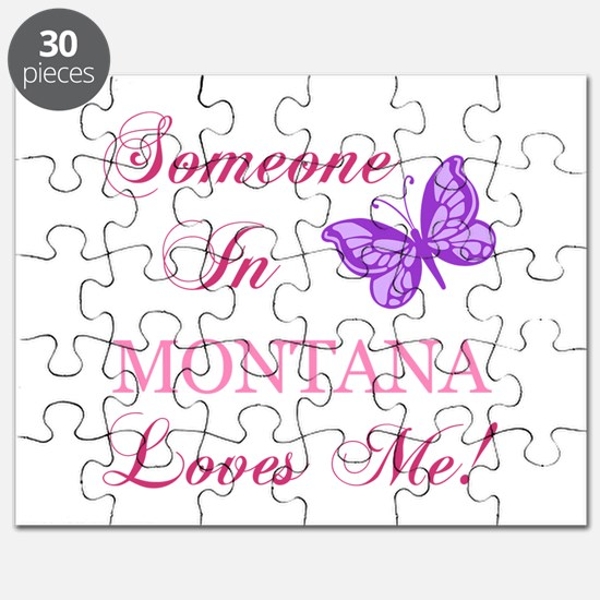 Montana State (Butterfly) Puzzle