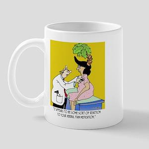 Reaction to Herbal Medication Mug