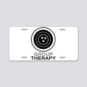 Group Therapy Aluminum License Plate