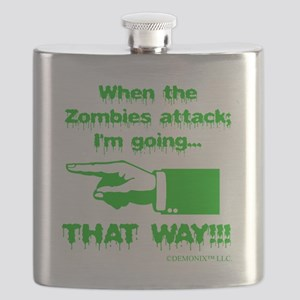 Im going left... Flask